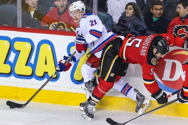 Calgary Flames vs. New York Rangers - 12/16/14 NHL Pick, Odds, and Prediction