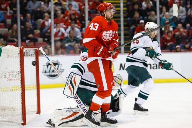 Detroit Red Wings vs. Minnesota Wild - 1/20/15 NHL Pick, Odds, and Prediction