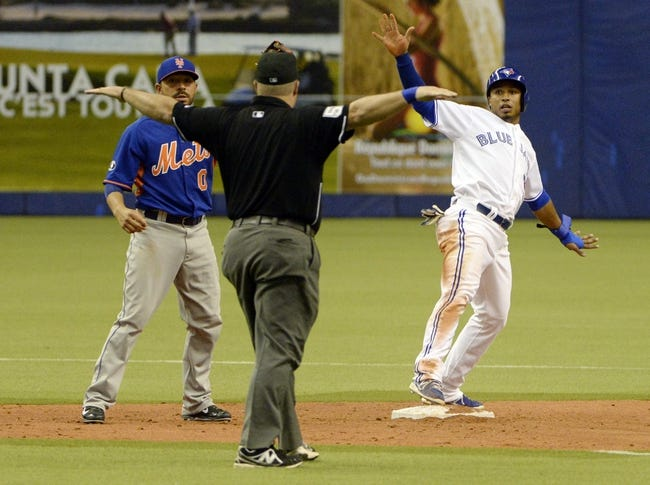Mets vs. Blue Jays - 6/15/15 MLB Pick, Odds, and Prediction
