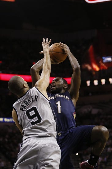 San Antonio Spurs vs. New Orleans Pelicans - 11/8/14 NBA Pick, Odds, and Prediction