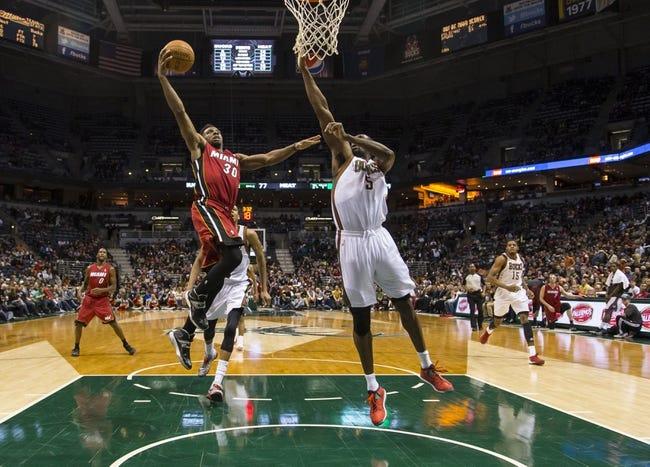Miami Heat vs. Milwaukee Bucks NBA Pick, Odds, Prediction 4/2/14