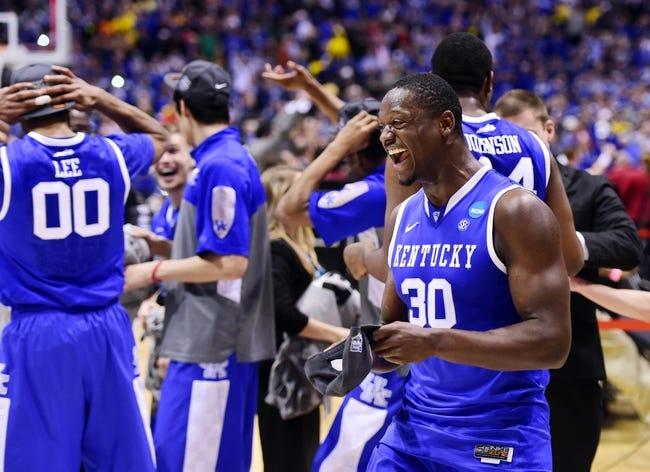 Wisconsin Badgers vs. Kentucky Wildcats - 4/5/14 Final Four