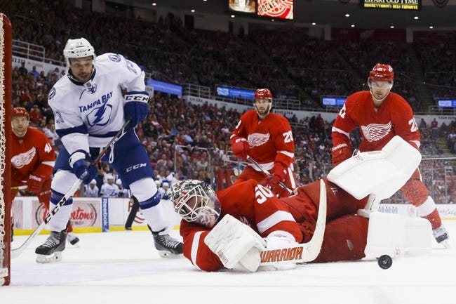 Detroit Red Wings vs. Tampa Bay Lightning - 11/9/14 NHL Pick, Odds, and Prediction