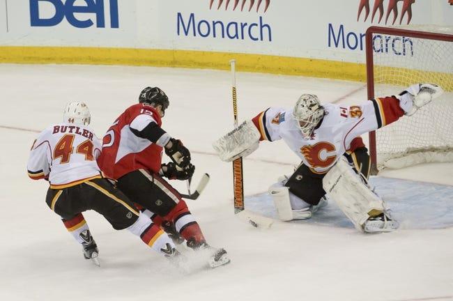 Calgary Flames vs. Ottawa Senators - 11/15/14 NHL Pick, Odds, and Prediction