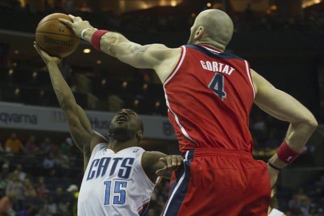 Washington Wizards vs. Charlotte Bobcats - 4/9/14