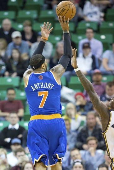 New York Knicks vs. Utah Jazz - 11/14/14 NBA Pick, Odds, and Prediction