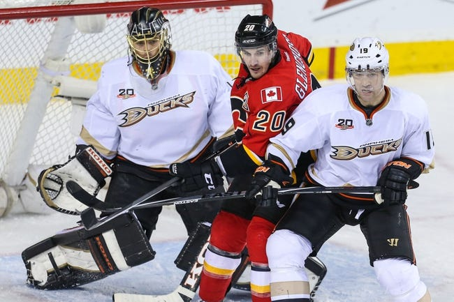 Calgary Flames vs. Anaheim Ducks - 11/18/14 NHL Pick, Odds, and Prediction