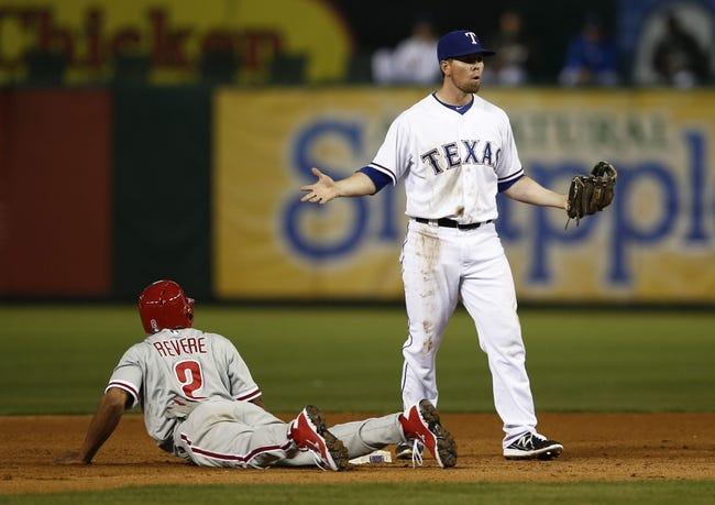 Texas Rangers vs. Philadelphia Phillies MLB Pick, Odds, Prediction 4/2/14