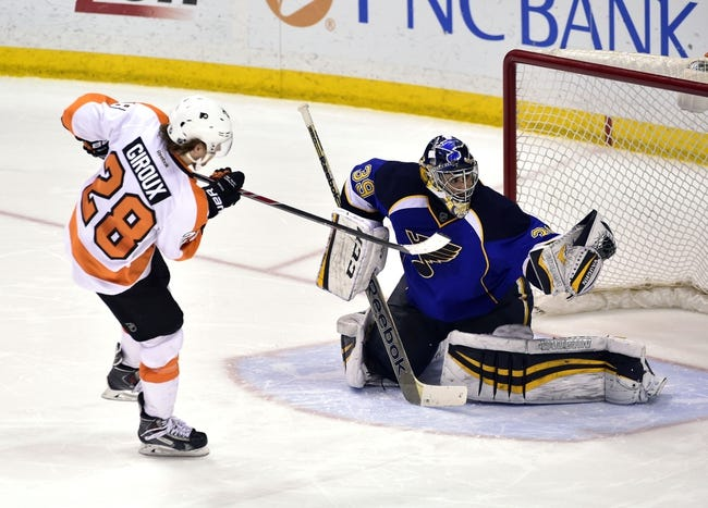 NHL | Philadelphia Flyers (28-27-13) at St. Louis Blues (42-19-5)