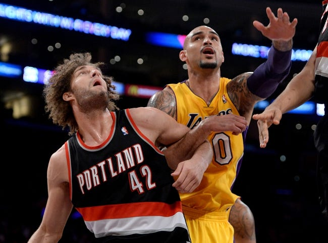 Los Angeles Lakers vs. Portland Trail Blazers 10/22/14 NBA Preseason Pick, Odds, Prediction