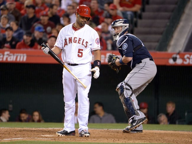 Los Angeles Angels vs. Seattle Mariners - 4/2/14