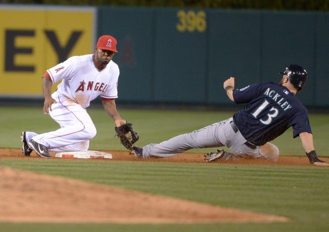 Seattle Mariners vs. Los Angeles Angels Pick-Odds-Prediction - 4/8/14