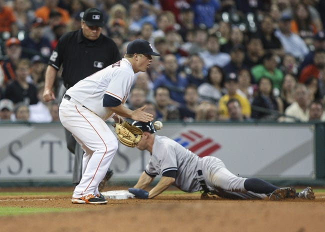 Houston Astros vs. New York Yankees MLB Pick, Odds, Prediction 4/3/14