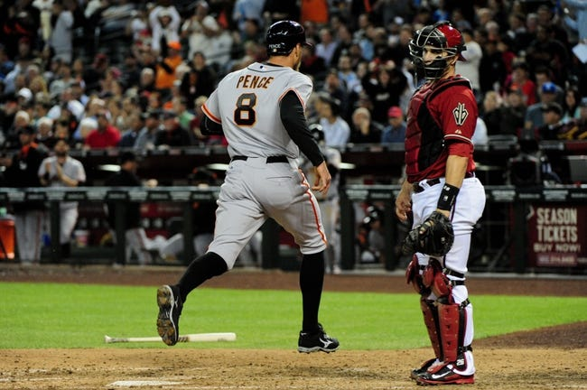 Arizona Diamondbacks vs. San Francisco Giants - 4/3/14