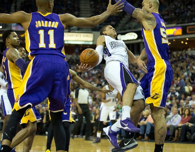 Lakers vs. Kings - 12/9/14 NBA Pick, Odds, and Prediction