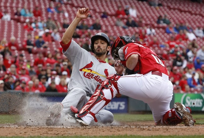St. Louis Cardinals vs. Cincinnati Reds MLB Pick, Odds, Prediction 4/7/14