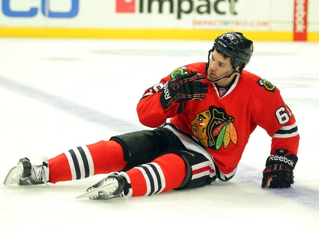 Chicago Blackhawks vs. St. Louis Blues Pick-Odds-Prediction - 4/6/14