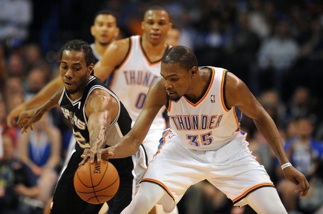 The Oklahoma City Thunder vs. San Antonio Spurs - 5/19/14