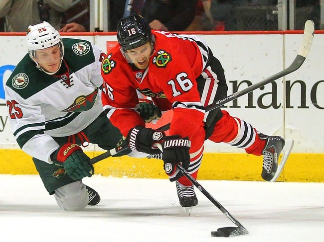 Chicago Blackhawks vs. Minnesota Wild - 5/2/14