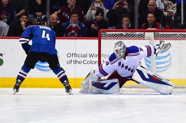 Rangers vs. Avalanche - 11/13/14 NHL Pick, Odds, and Prediction
