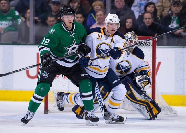 Buffalo Sabres vs. Dallas Stars - 11/17/15 NHL Pick, Odds, and Prediction