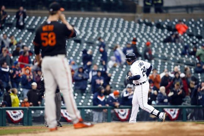 Detroit Tigers vs. Baltimore Orioles - 4/5/14