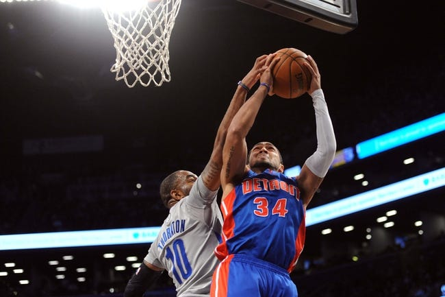 Detroit Pistons vs. Brooklyn Nets - 11/1/14 NBA Pick, Odds, and Prediction