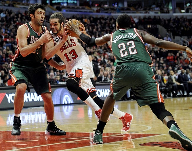 Chicago Bulls vs. Milwaukee Bucks - 10/11/14 NBA Preseason Pick, Odds, Prediction