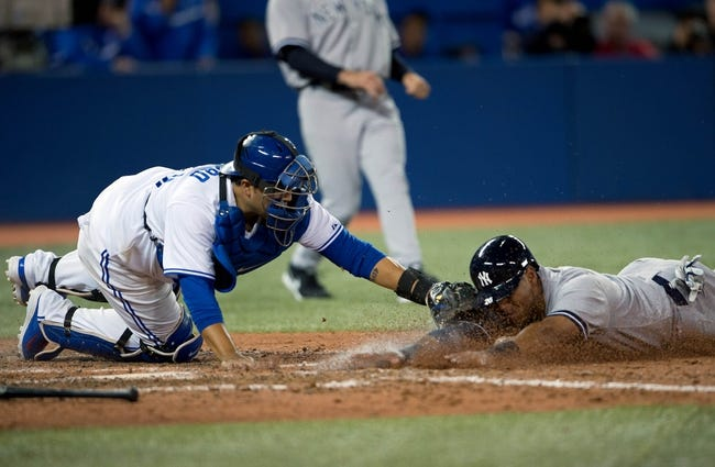 Toronto Blue Jays vs. New York Yankees MLB Pick, Odds, Prediction 4/5/14