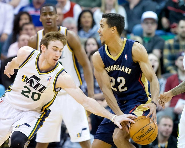Jazz vs. Pelicans - 11/22/14 NBA Pick, Odds, and Prediction