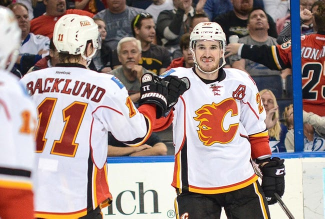 Calgary Flames vs. Tampa Bay Lightning - 10/21/14
