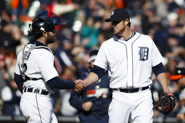 Detroit Tigers vs. Baltimore Orioles - 4/6/14
