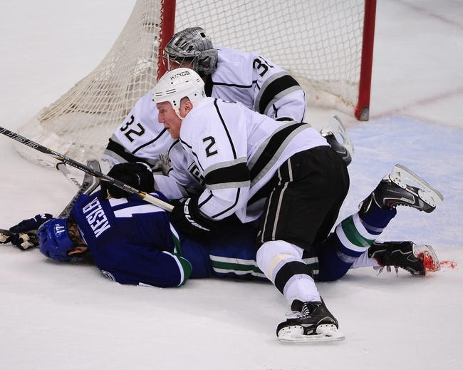Kings vs. Canucks - 11/8/14 NHL Pick, Odds, and Prediction