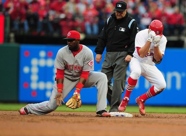 St. Louis Cardinals vs. Cincinnati Reds MLB Pick, Odds, Prediction 4/8/14