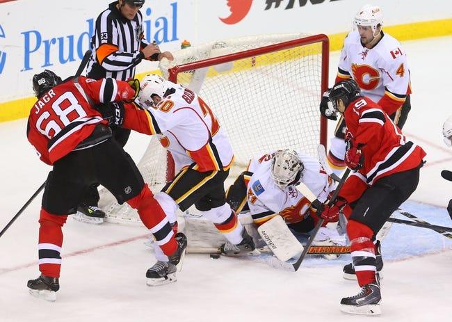 NHL | New Jersey Devils (9-9-2) at Calgary Flames (12-7-2)
