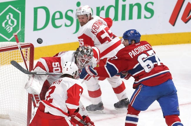 Montreal Canadiens vs. Detroit Red Wings - 10/21/14