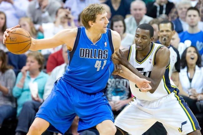Utah Jazz at Dallas Mavericks - 10/30/14 NBA Pick, Odds, and Prediction
