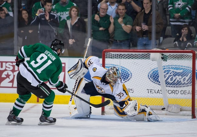 Dallas Stars vs. Nashville Predators - 11/6/14 NHL Pick, Odds, and Prediction