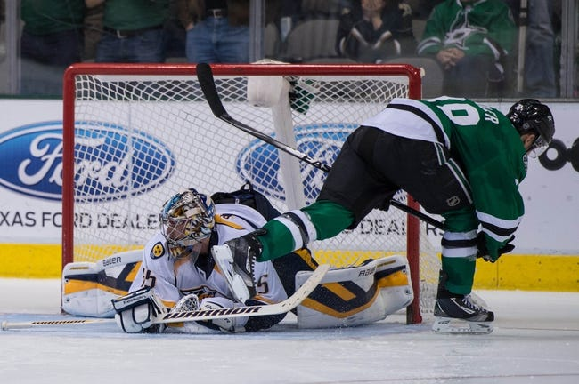 NHL | Dallas Stars (0-0-1) at Nashville Predators (1-0-0)