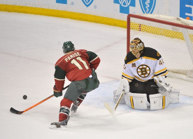 Boston Bruins vs. Minnesota Wild - 10/28/14 NHL Pick, Odds, and Prediction