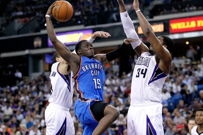 Oklahoma City Thunder vs. Sacramento Kings - 11/9/14 NBA Pick, Odds, and Prediction