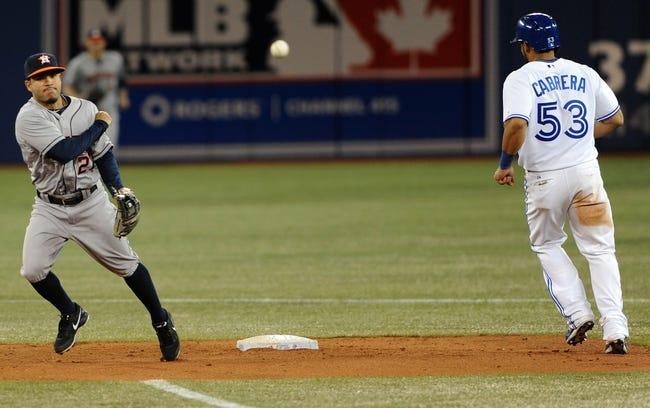 Toronto Blue Jays vs. Houston Astros - 4/10/14