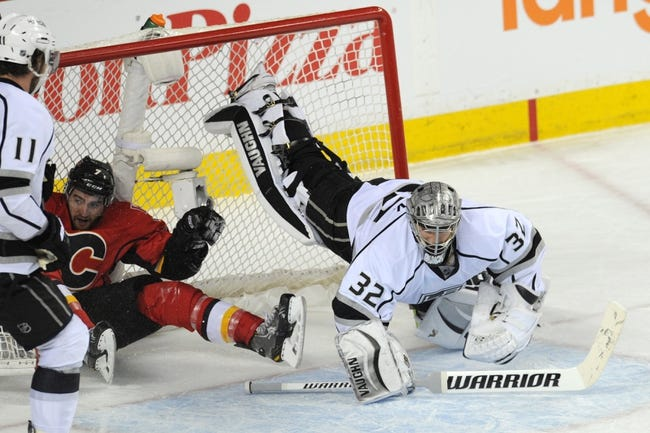NHL | Calgary Flames (17-15-3) at Los Angeles Kings (17-11-6)