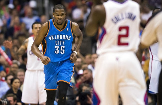 Los Angeles Clippers at Oklahoma City Thunder NBA Pick, Odds, Prediction - 5/5/14 Game One