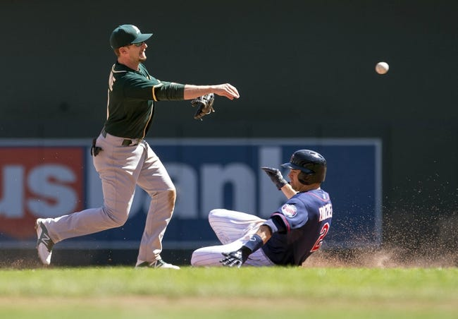 Oakland Athletics vs. Minnesota Twins Pick-Odds-Prediction - 8/7/14