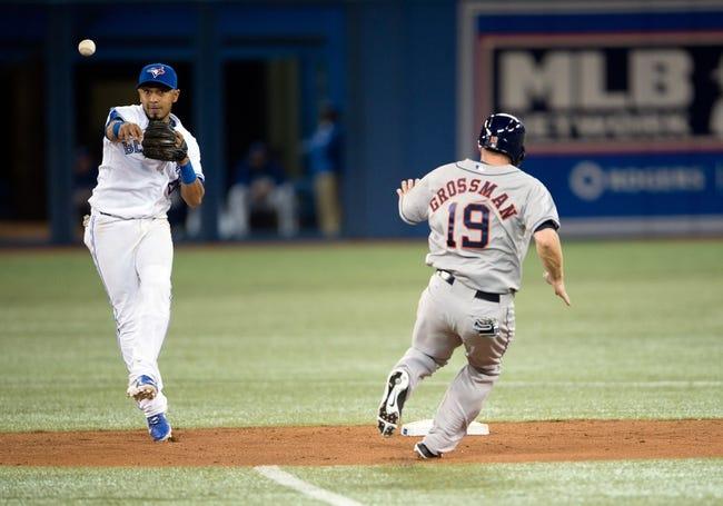 Houston Astros vs. Toronto Blue Jays MLB Pick, Odds, Prediction - 7/31/14
