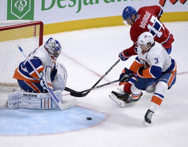 Islanders vs. Canadiens - 12/23/14 NHL Pick, Odds, and Prediction