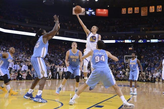 Golden State Warriors vs. Denver Nuggets 10/16/14 NBA Preseason Pick, Odds, Prediction