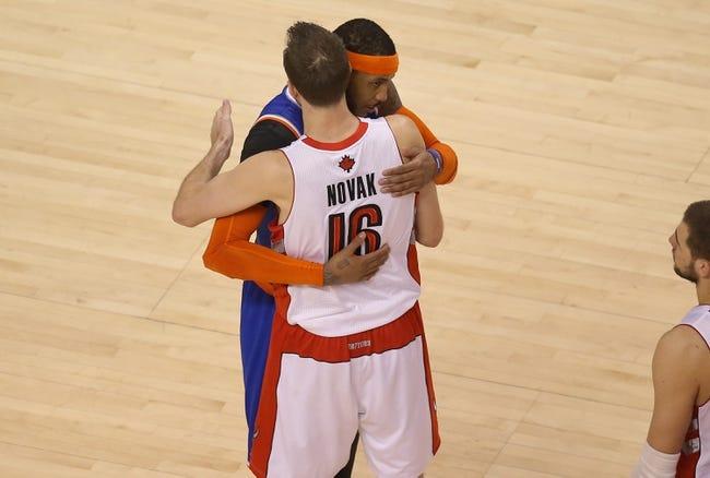 Raptors vs. Knicks - 10/13/14 NBA Preseason Pick, Odds, Prediction