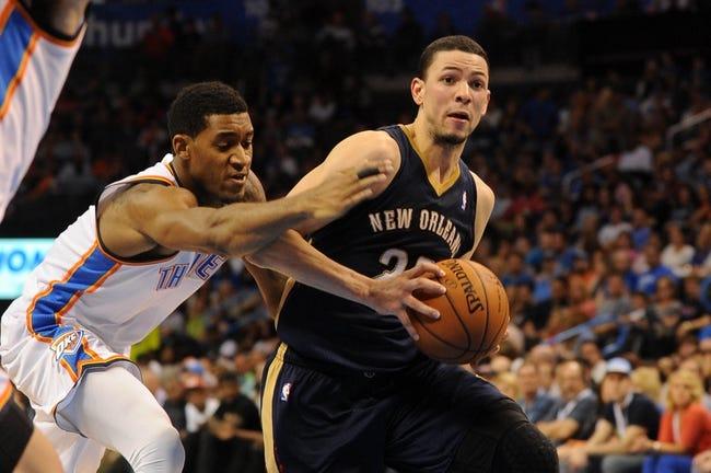 New Orleans Pelicans vs. Oklahoma City Thunder - 4/14/14